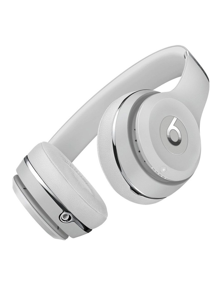 Beats Solo3 Wireless On-Ear Headphones Satin Silver MX452PA/A image 3