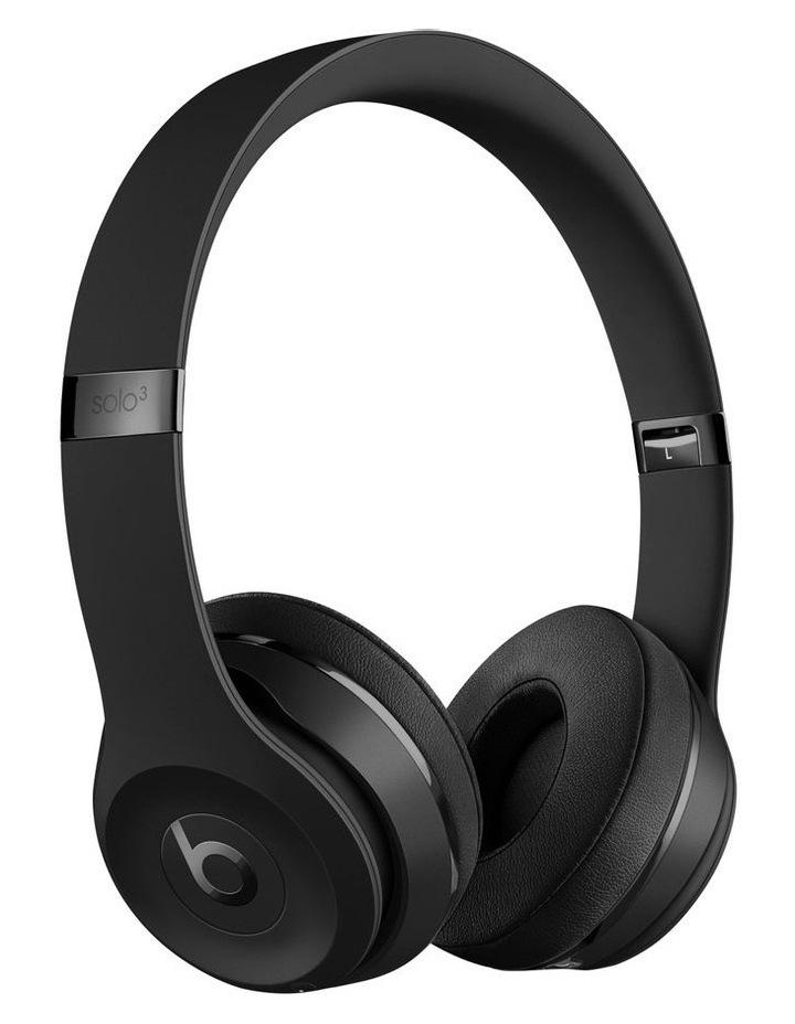 beats by dr dre beats solo3 wireless on ear headphones black mx432pa a myer