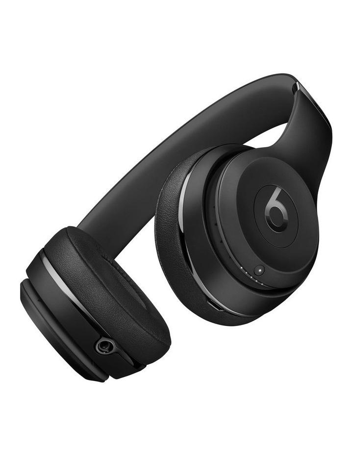 Beats Solo3 Wireless On-Ear Headphones Black MX432PA/A image 3