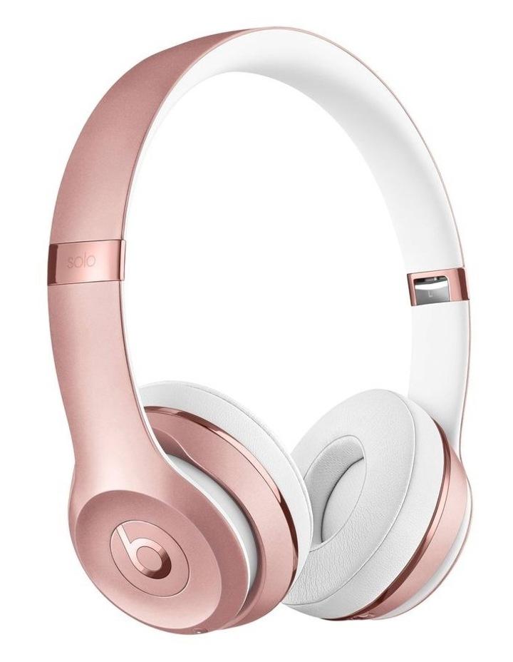 Beats Solo3 Wireless On-Ear Headphones Rose Gold MX442PA/A image 1