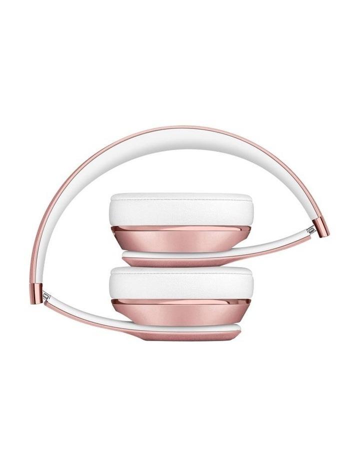 Beats Solo3 Wireless On-Ear Headphones Rose Gold MX442PA/A image 4