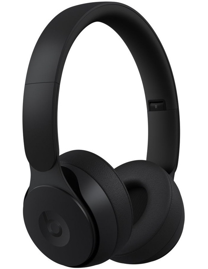 Solo Pro Wireless Noise Cancelling On-Ear Headphones Black image 1