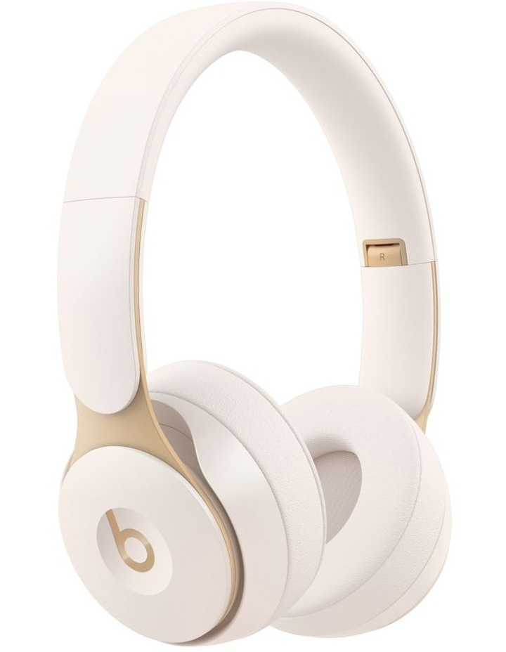 Solo Pro Wireless Noise Cancelling On-Ear Headphones Ivory image 1