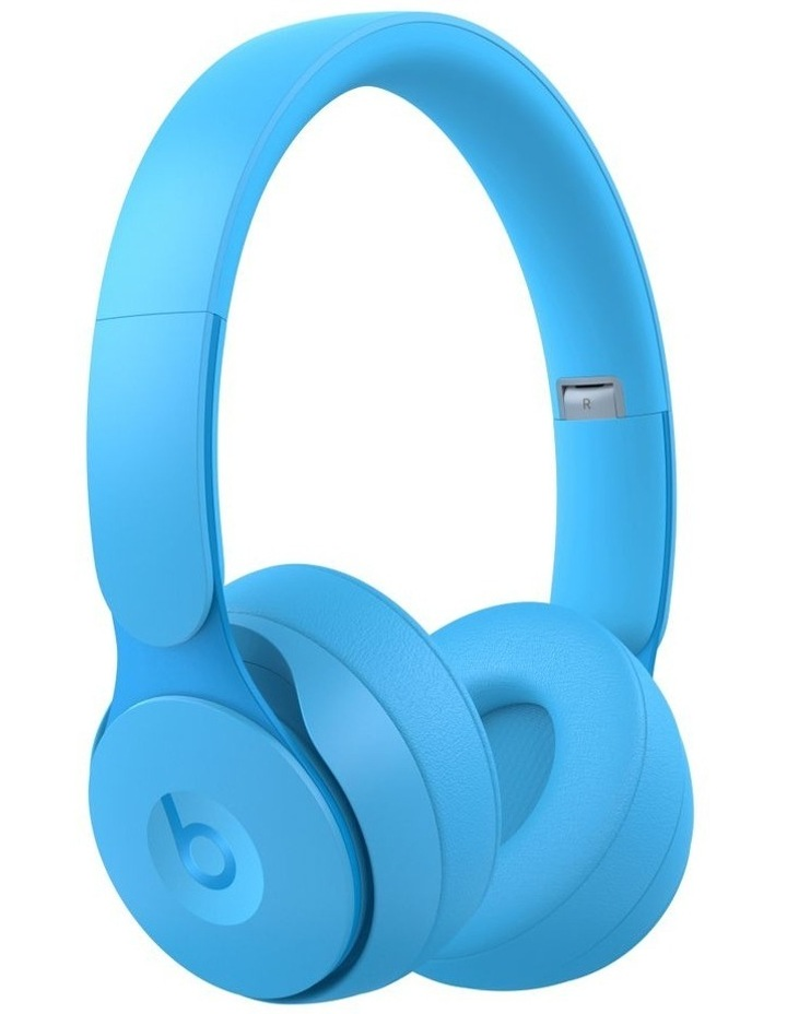 Solo Pro Wireless Noise Cancelling On-Ear Headphones - More Matte Collection Light Blue image 1