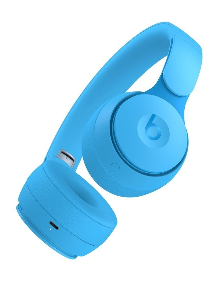 Solo Pro Wireless Noise Cancelling On-Ear Headphones - More Matte Collection Light Blue image 3