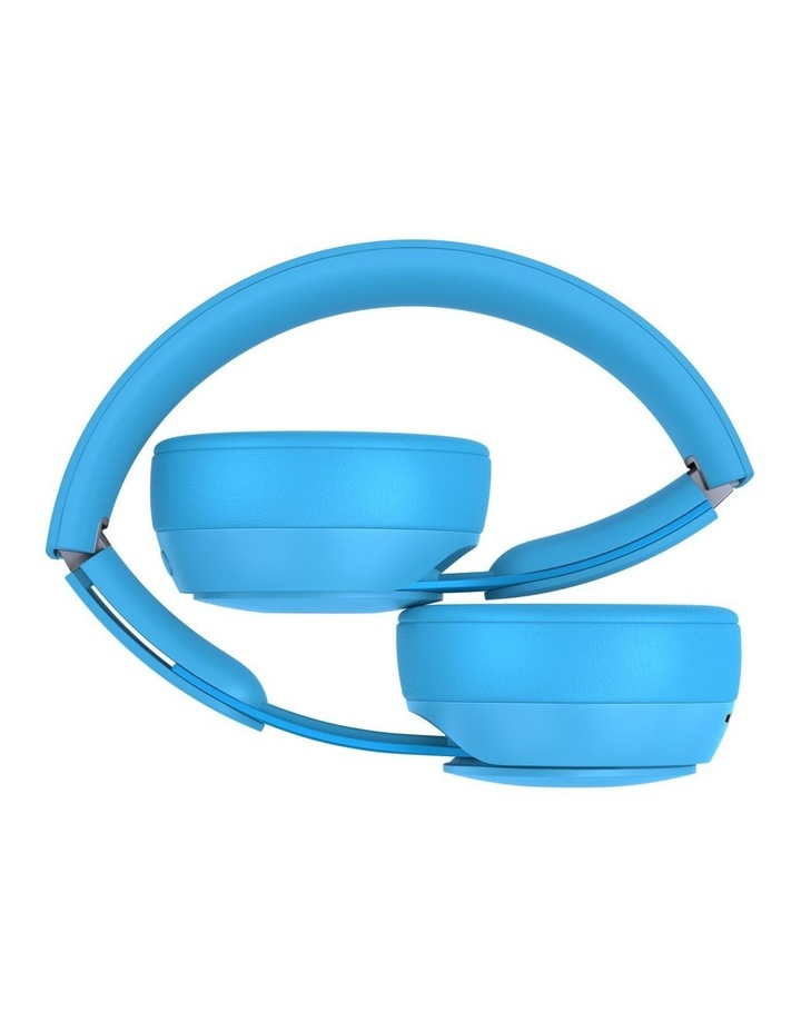 Solo Pro Wireless Noise Cancelling On-Ear Headphones - More Matte Collection Light Blue image 4