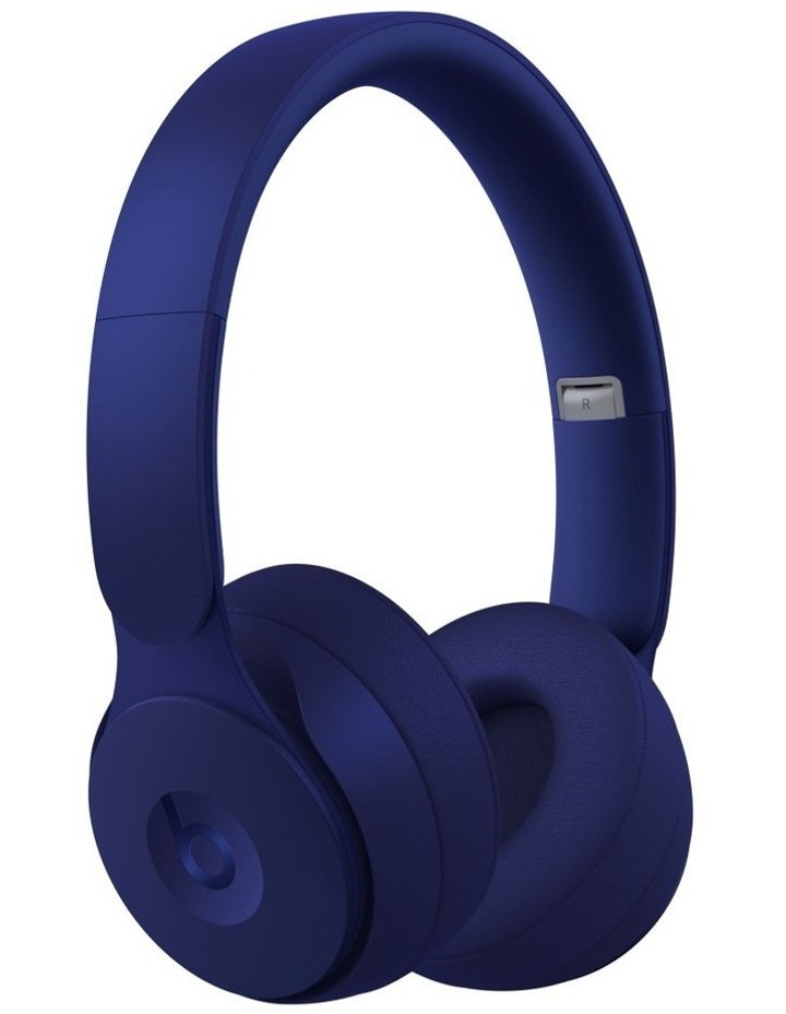 Solo Pro Wireless Noise Cancelling On-Ear Headphones - More Matte Collection Dark Blue image 1