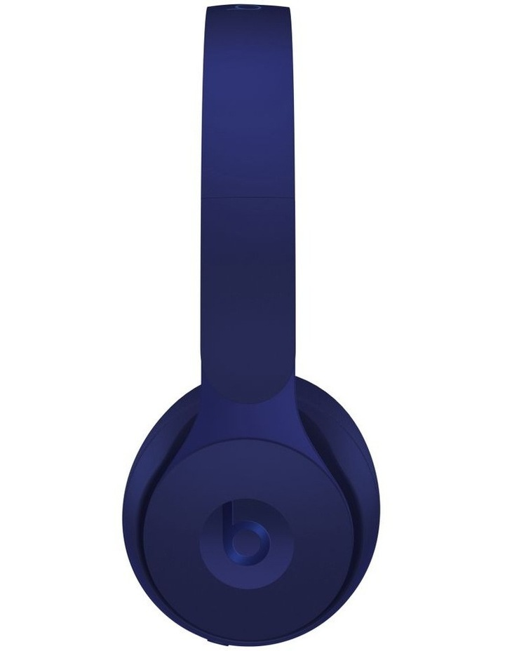 Solo Pro Wireless Noise Cancelling On-Ear Headphones - More Matte Collection Dark Blue image 2