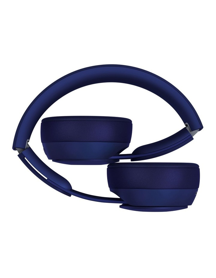 Solo Pro Wireless Noise Cancelling On-Ear Headphones - More Matte Collection Dark Blue image 4