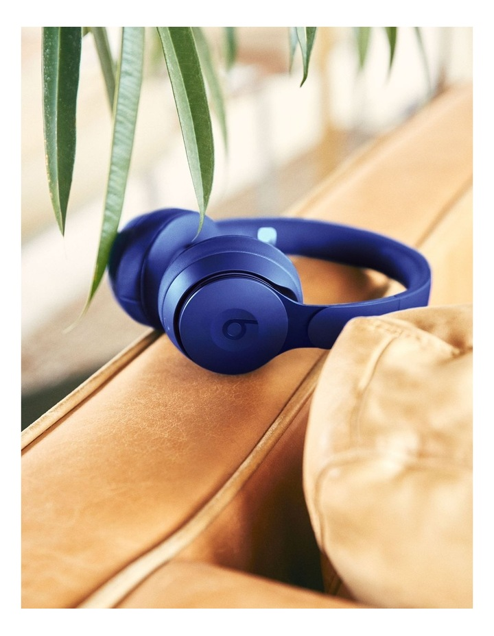 Solo Pro Wireless Noise Cancelling On-Ear Headphones - More Matte Collection Dark Blue image 5