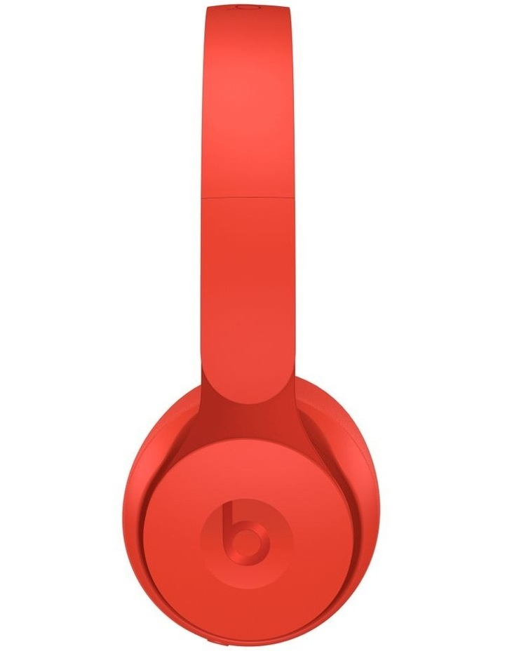Solo Pro Wireless Noise Cancelling On-Ear Headphones - More Matte Collection Red image 2