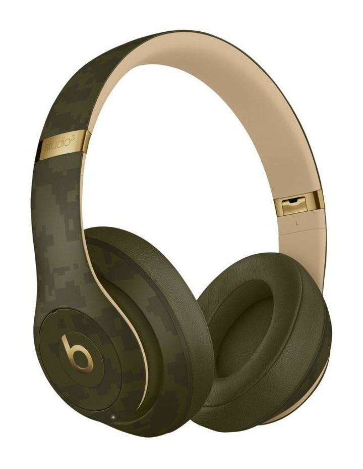 Studio3 Wireless Over-Ear Headphones Camo Collection - Forest Green image 1