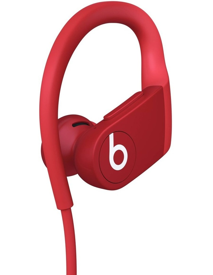Powerbeats Red High-Performance Wireless Earphones image 3