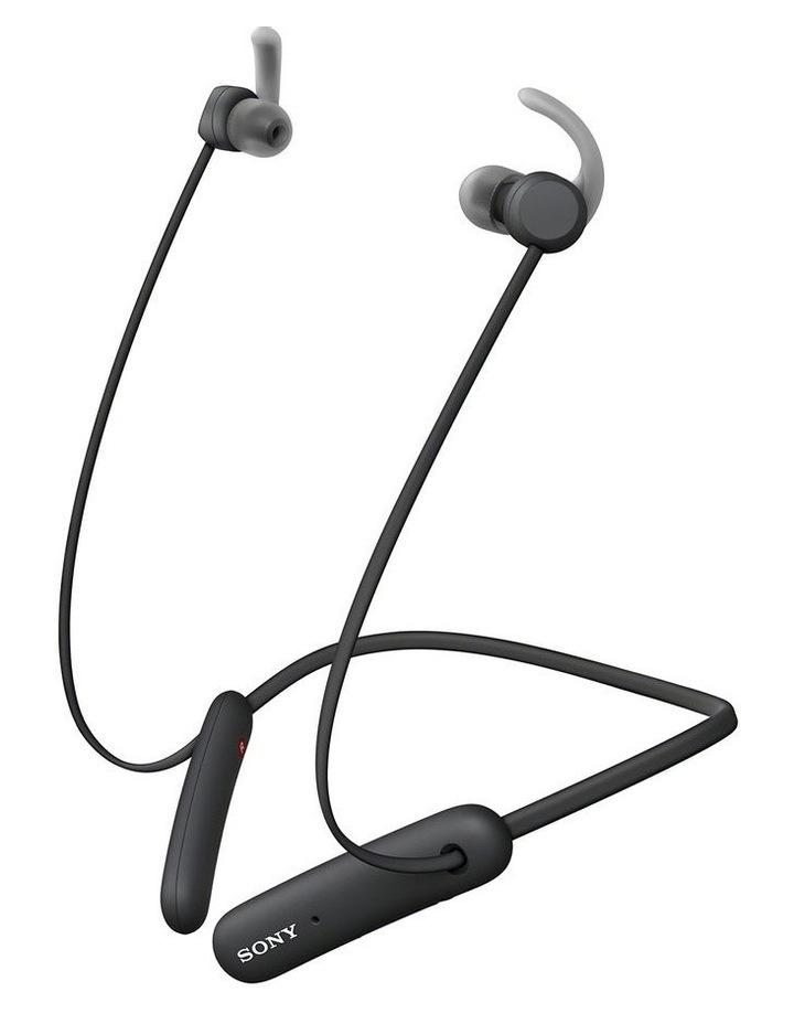 Sony WISP510B In-Ear Neckband Sport Headphones Black image 1