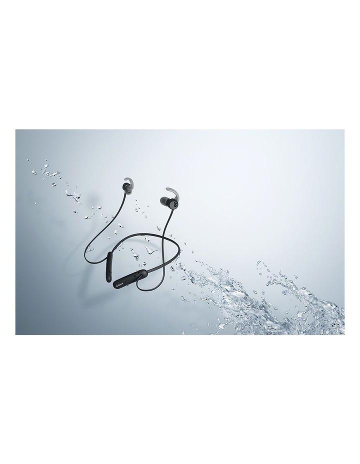 Sony WISP510B In-Ear Neckband Sport Headphones Black image 5