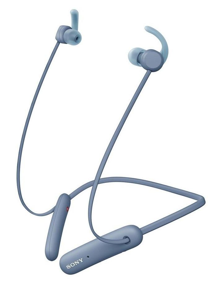 Sony WISP510L In-Ear Neckband Sport Headphones Blue image 1