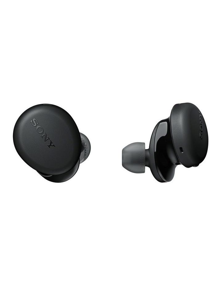 Sony WFXB700B Truly W/less BT Headphones Blk image 1