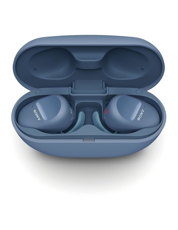 Truly Wireless Sports Bluetooth Headphones Blue WFSP800NL image 5