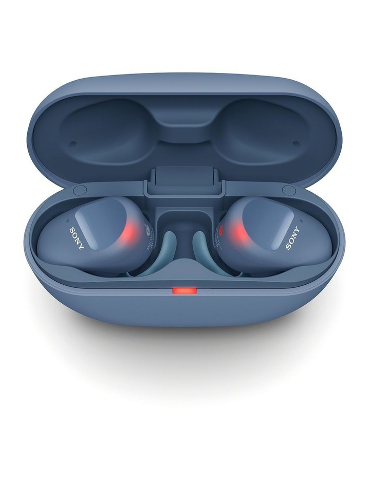 Truly Wireless Sports Bluetooth Headphones Blue WFSP800NL image 6