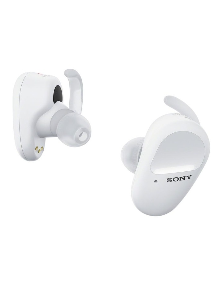 Truly Wireless Sports Bluetooth Headphones White WFSP800NW image 2