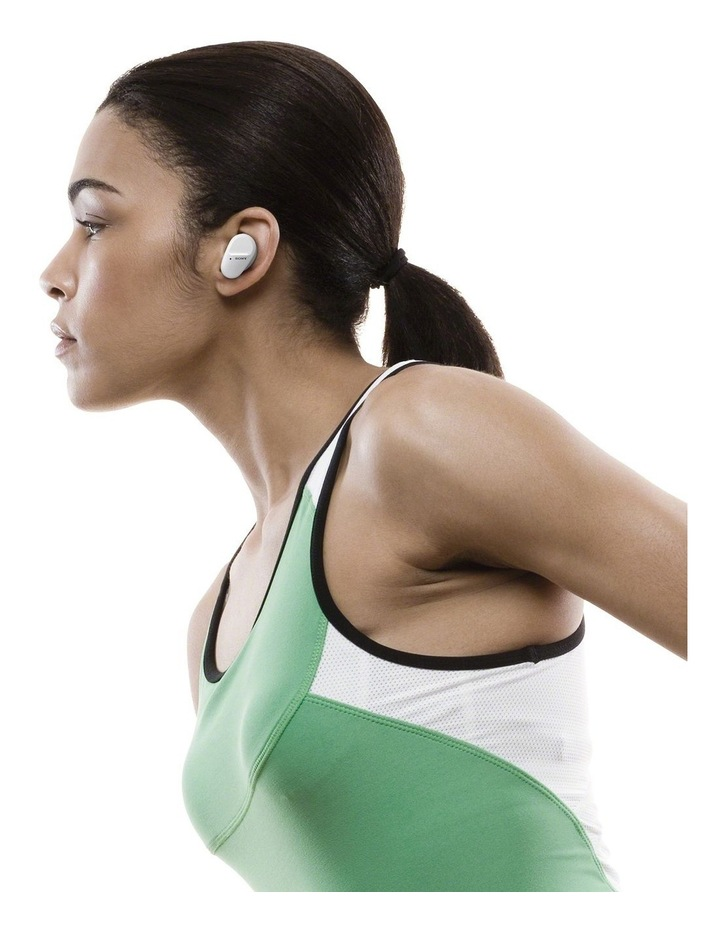 Truly Wireless Sports Bluetooth Headphones White WFSP800NW image 5