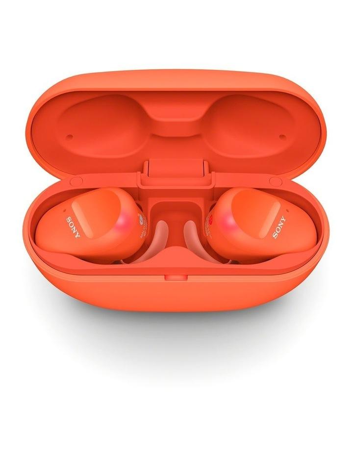 Truly Wireless Sports Bluetooth Headphones Orange WFSP800ND image 6