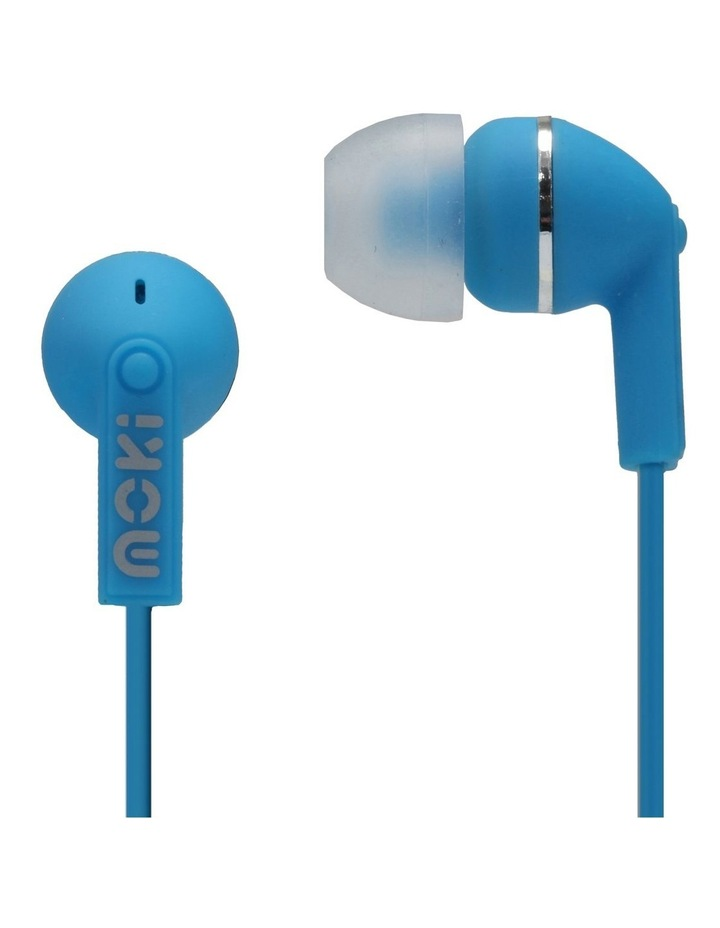 Dots Noise Isolation Earbuds - Blue image 1