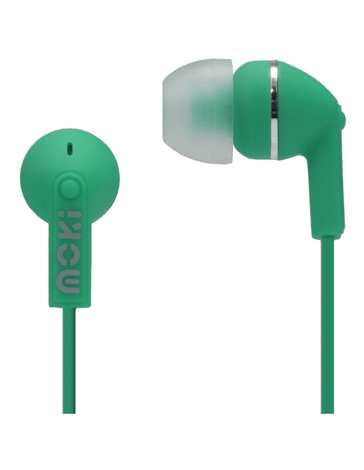 Dots Noise Isolation Earbuds - Green image 1
