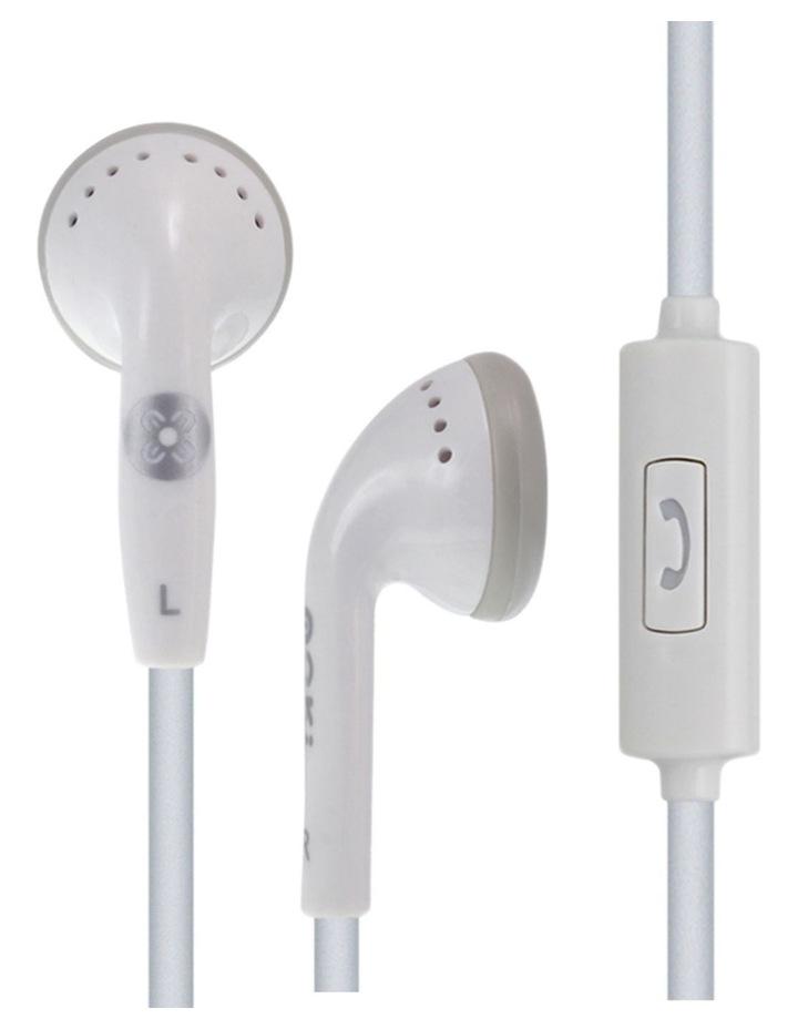 Mic'd Headphones - White image 1