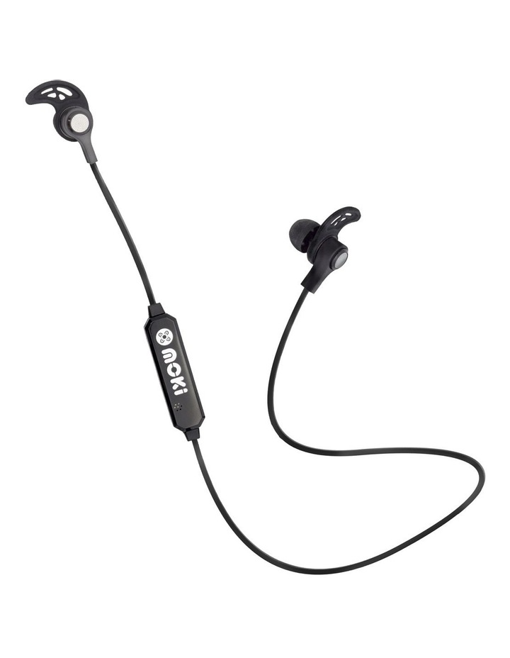 Exo Bluetooth Sports Earbuds - Black image 1