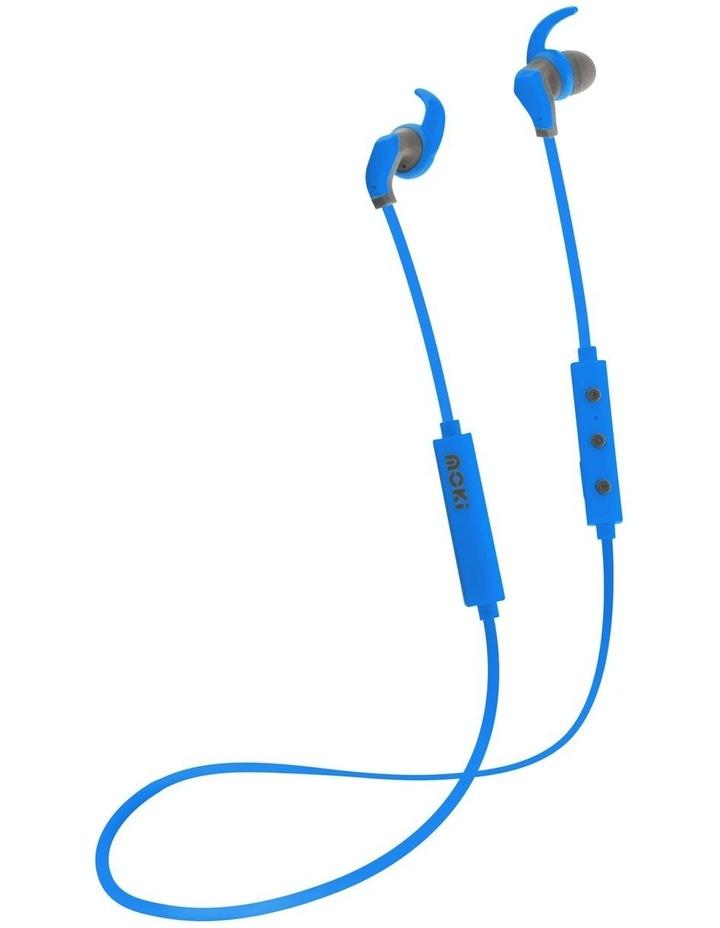 Hybrid Bluetooth Earphones - Blue image 1