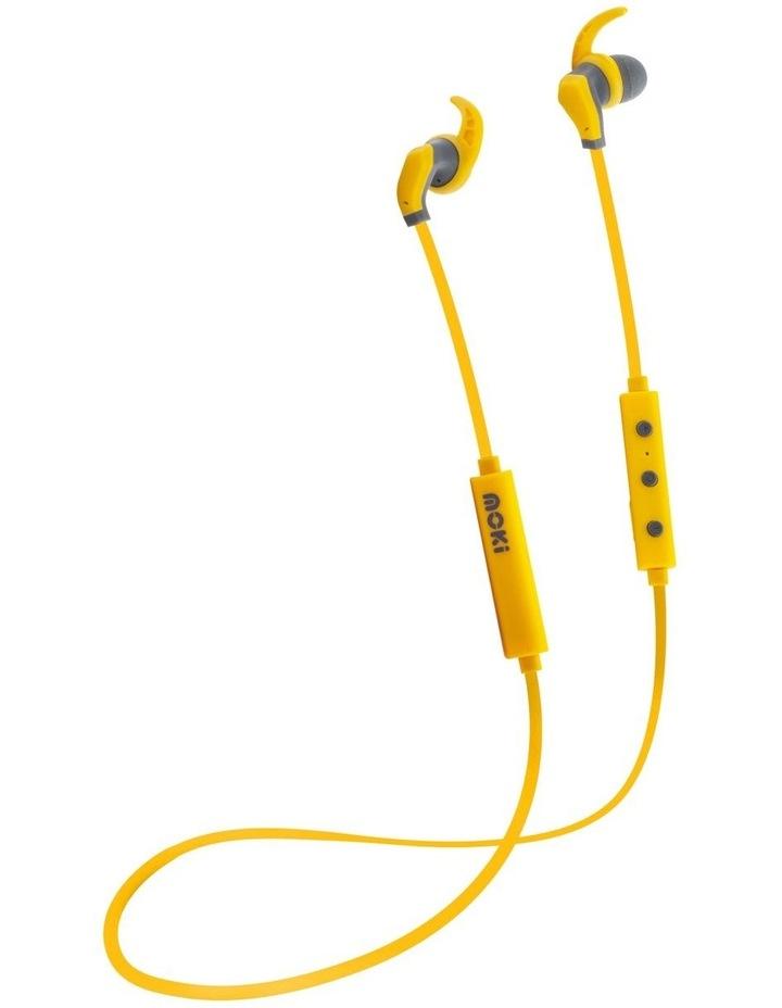 Hybrid Bluetooth Earphones - Yellow image 1