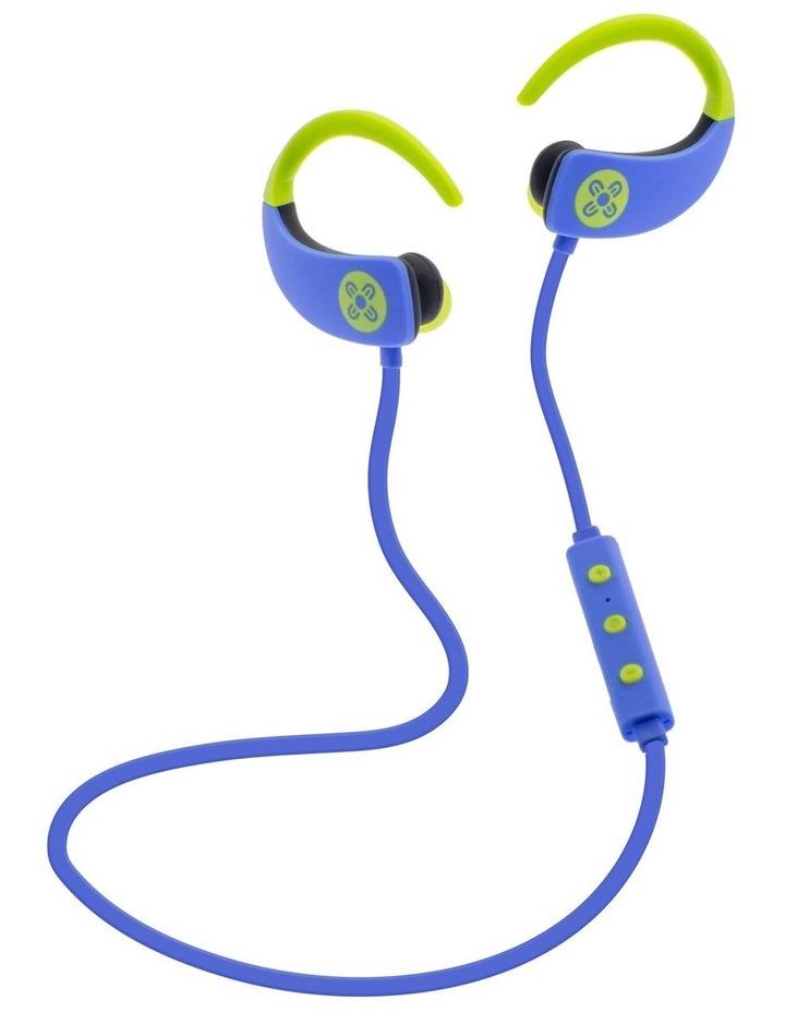 Octane Bluetooth Earphones - Blue image 1