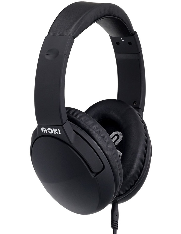 Noise Cancellation Headphones - Black image 1