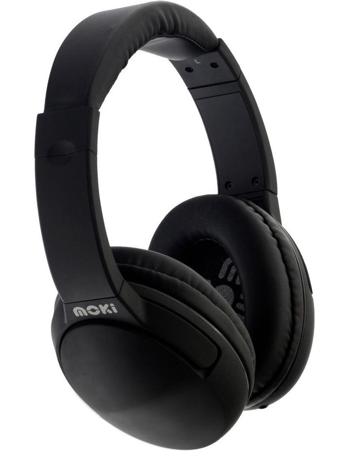 Nero Headphones with Microphone - Black image 1