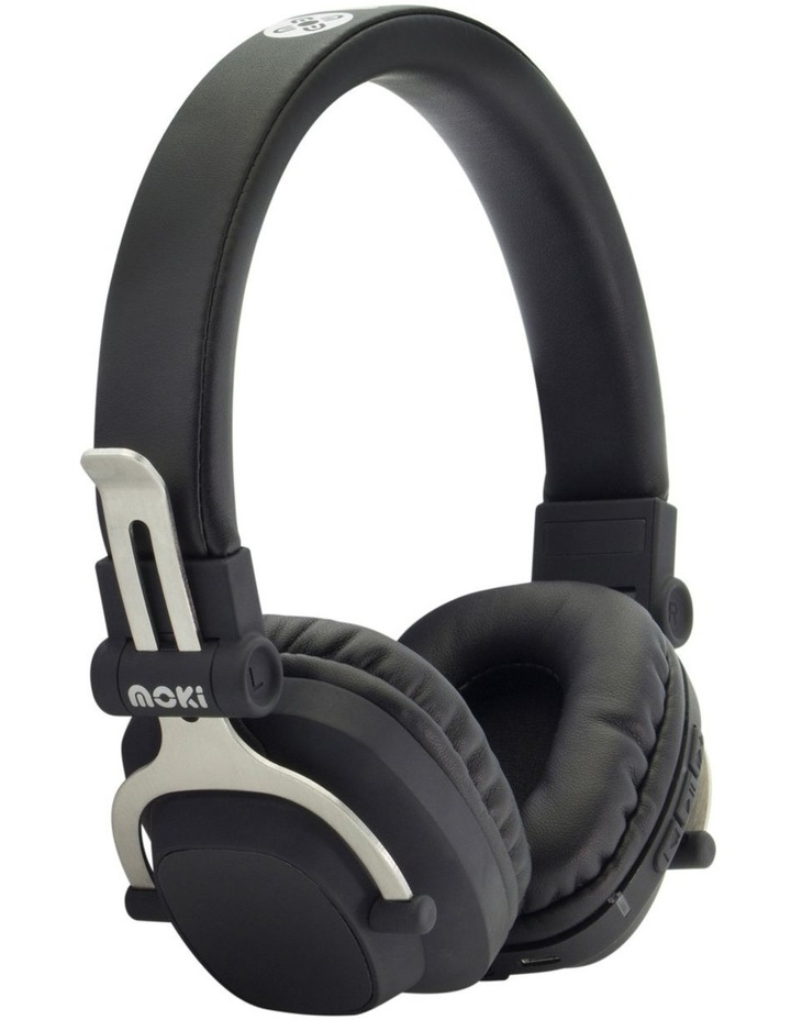 Exo Double Black Bluetooth Headphones - Black image 1