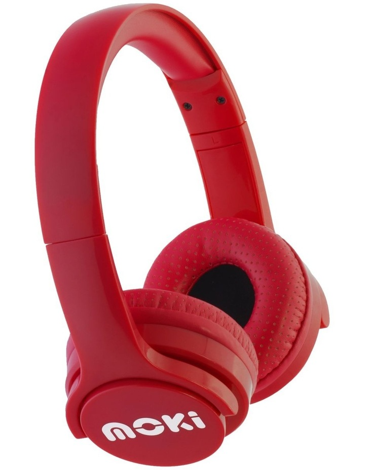 Moki ACC HPBRIR Brites Bluetooth Headphones - Red image 1