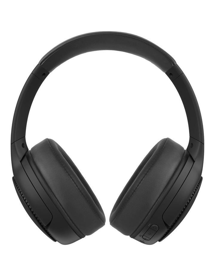 Deep Bass Black Wireless Headphones image 1