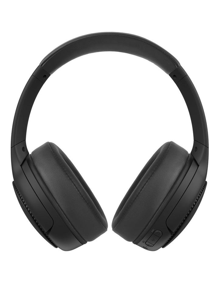 Deep Bass Wireless Headphones - Black image 1