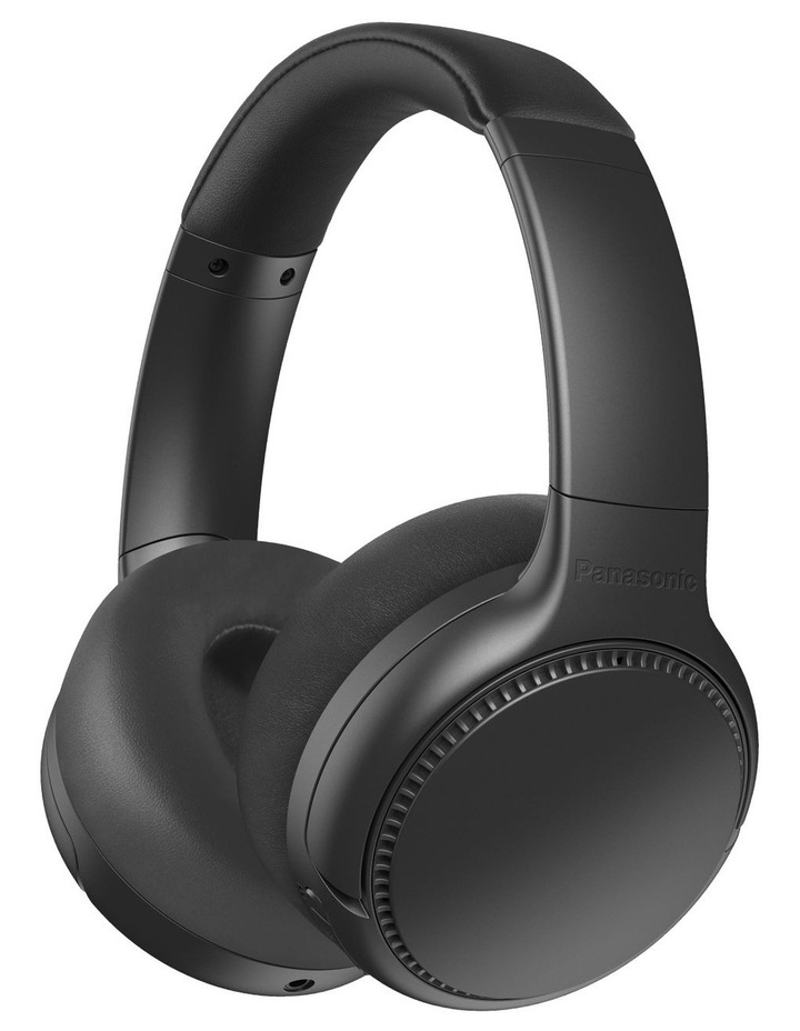 Deep Bass Wireless Noise Cancelling Headphones - Black image 1