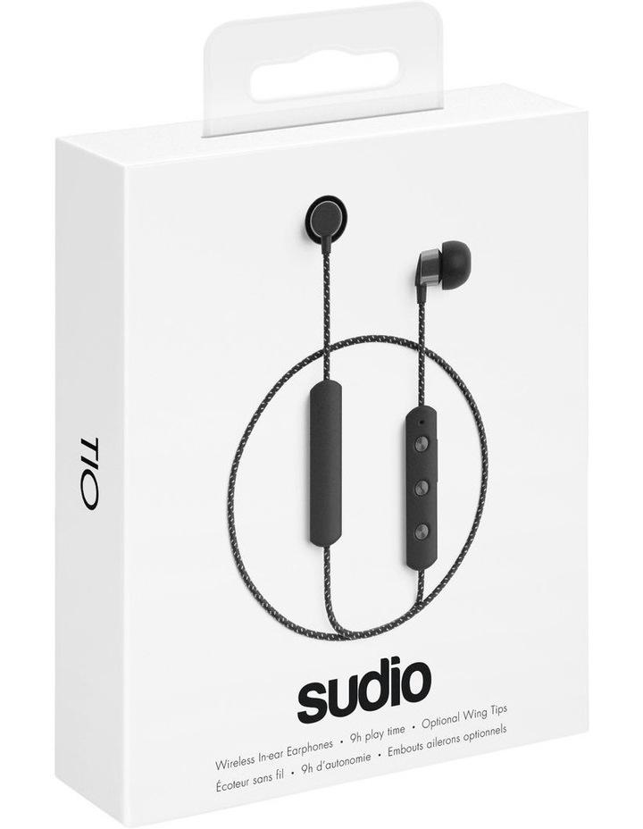 TIO Water Resistant Comfort Gym Bluetooth Headphones Black image 7