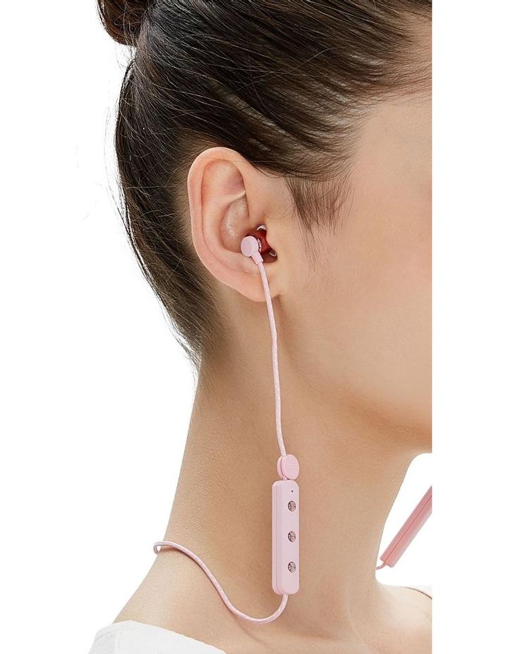TIO Water Resistant Comfort Gym Bluetooth Headphones Pink image 6