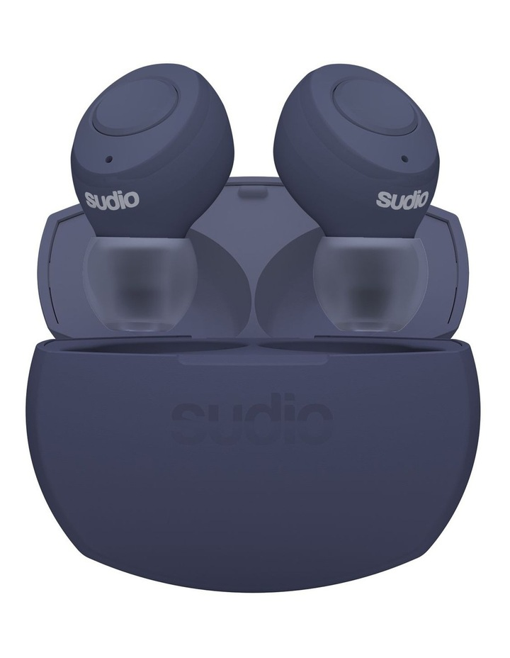 TOLV-R True Wireless Earphones Blue image 1