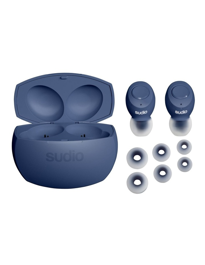 TOLV-R True Wireless Earphones Blue image 2