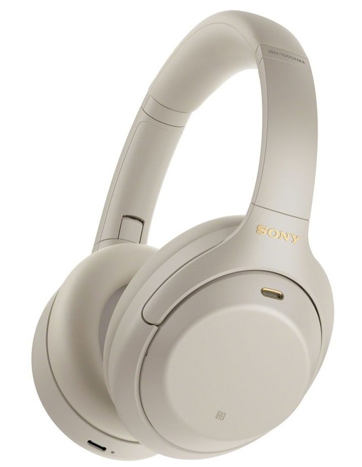 Noise Cancelling Headphones - Silver WH1000XM4S image 1
