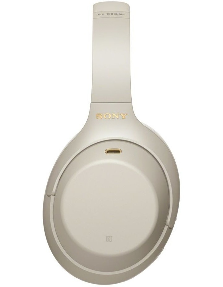 Noise Cancelling Headphones - Silver WH1000XM4S image 3