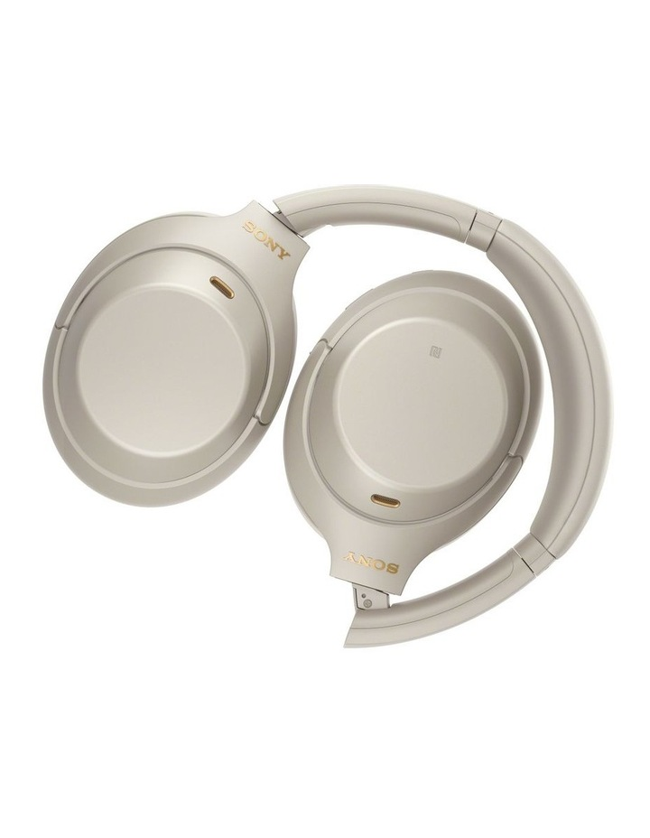 Noise Cancelling Headphones - Silver WH1000XM4S image 4