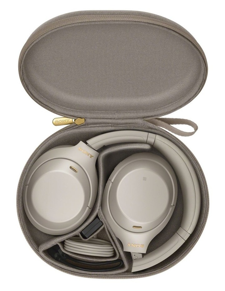 Noise Cancelling Headphones - Silver WH1000XM4S image 5