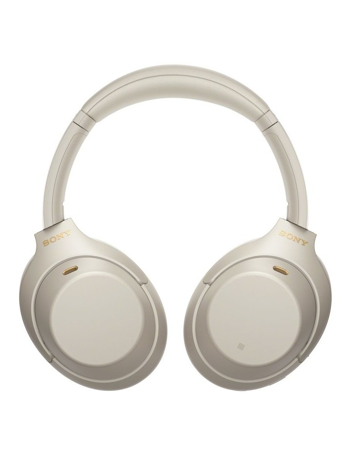 Noise Cancelling Headphones - Silver WH1000XM4S image 6