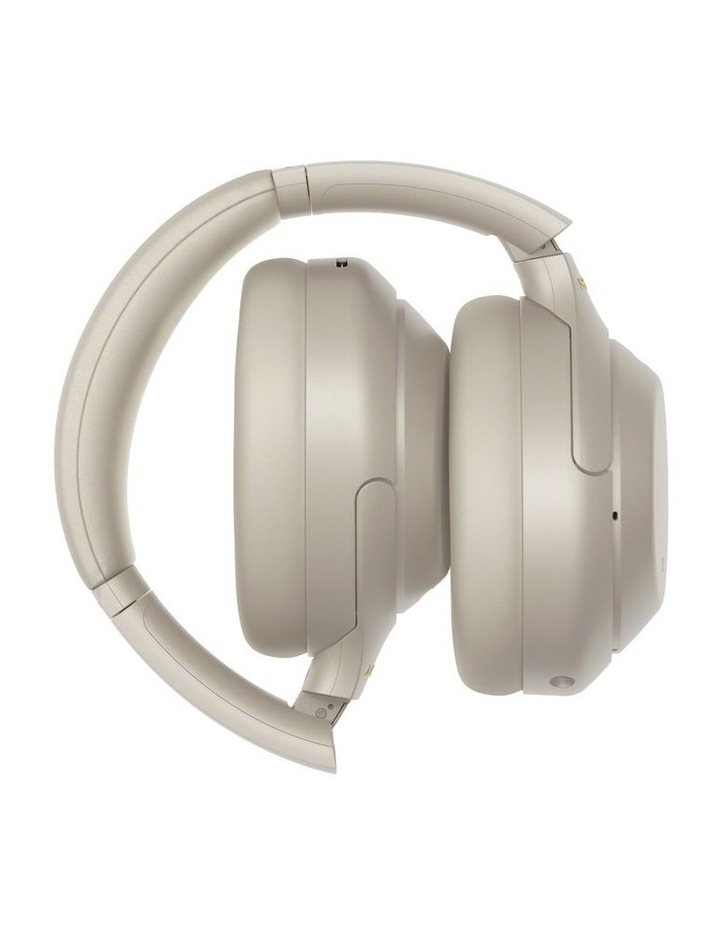 Noise Cancelling Headphones - Silver WH1000XM4S image 7